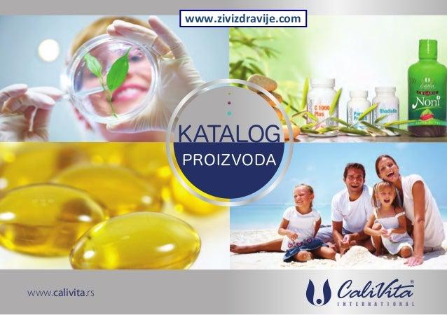 Calivita - katalog 2013
