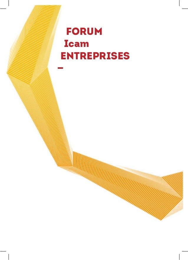 Catalogue Forum Icam Entreprises 2014