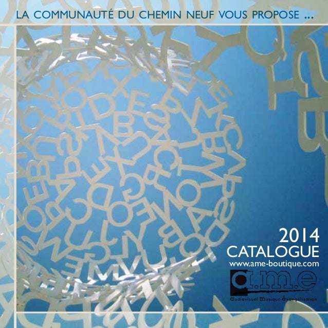 Catalogue ame 2014
