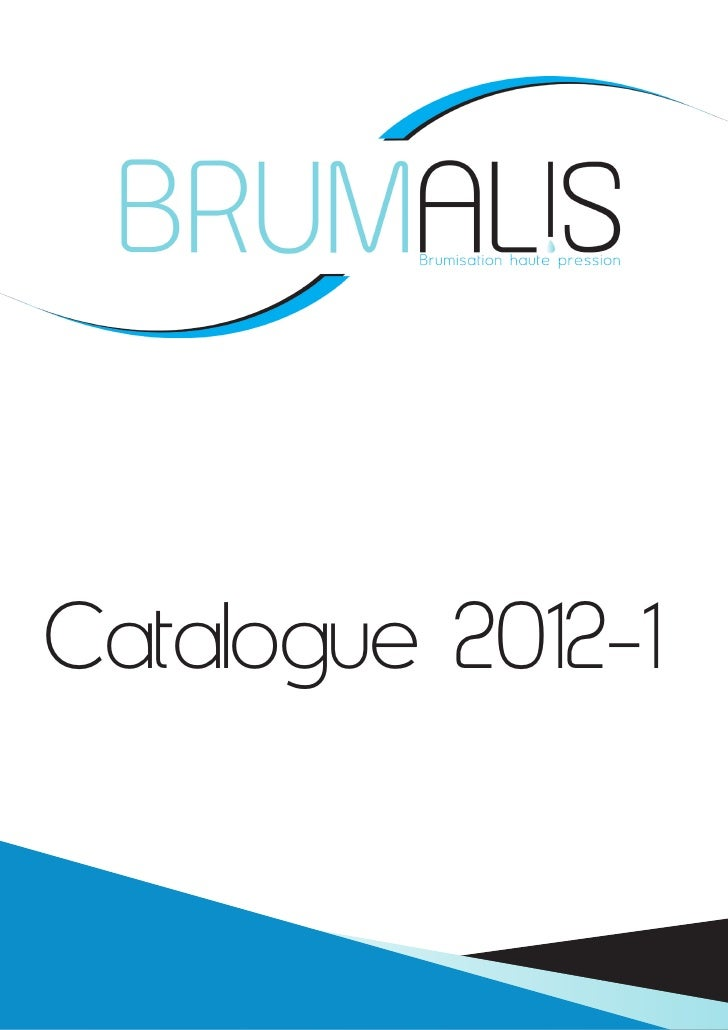 Catalogue 2012-1           Tarifs