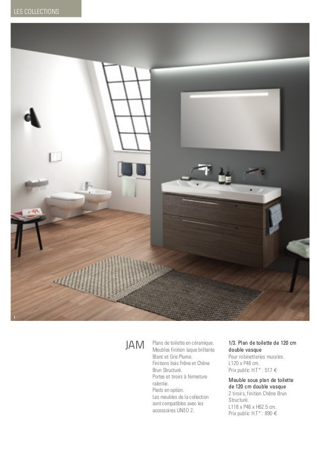 Catalogue collections allia 2016 - Meuble salle de bain allia ...