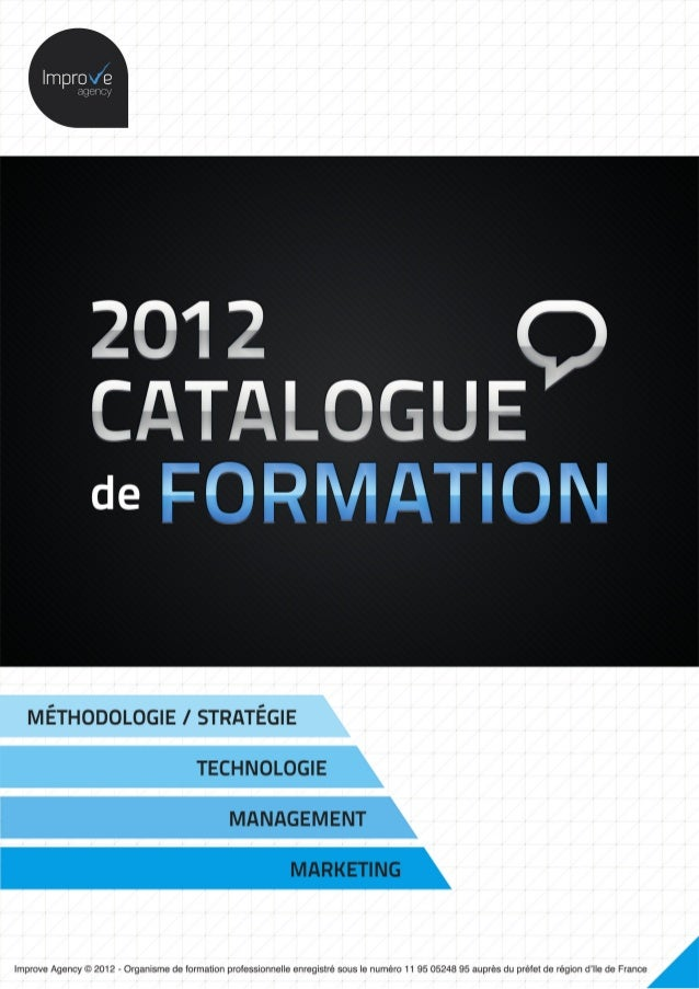 Catalogue de formation by Improve agency