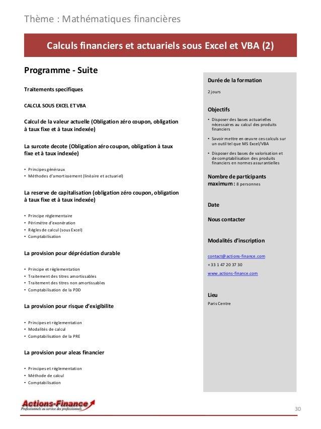 juilma catalogue de formations en finance