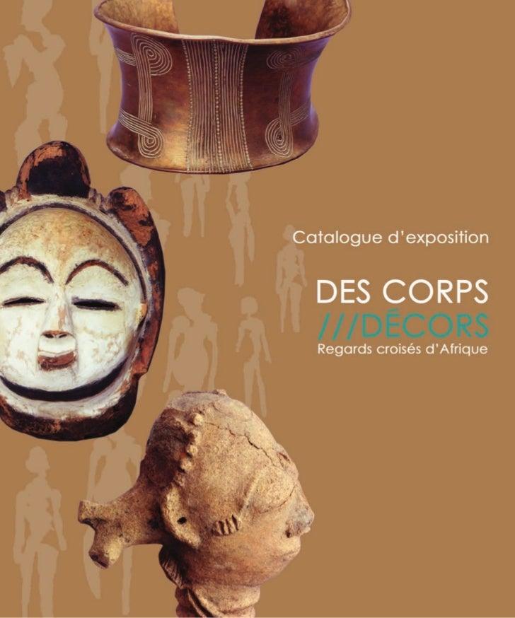 DES CORPS///DÉCORSRegards croisés d'Afrique