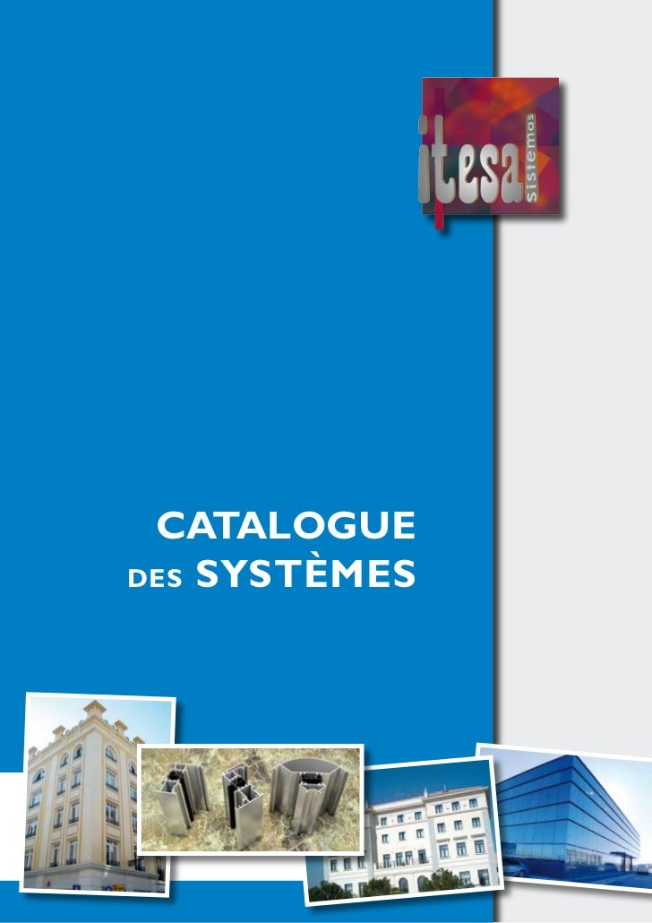 CATALOGUEdEs sYsTÈMEs