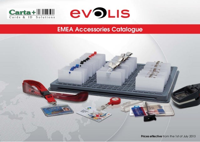 EMEA Accessories Catalogue  Prices effective from the 1st of July 2013