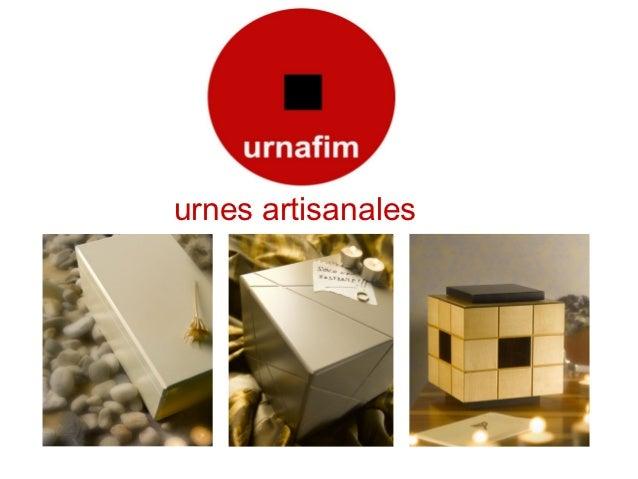 urnes artisanales