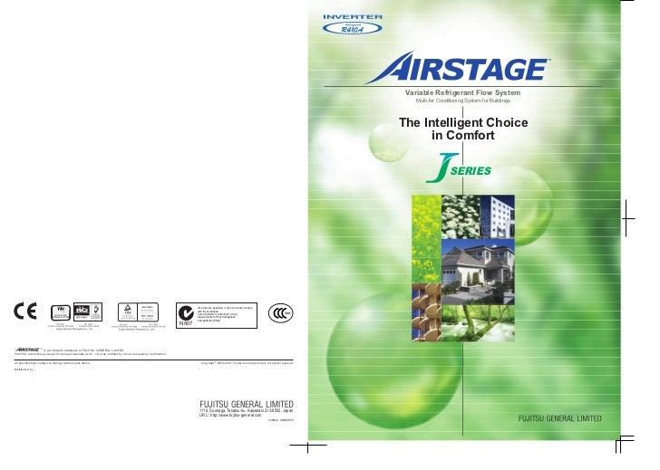 Catalogue fujitsu vrf