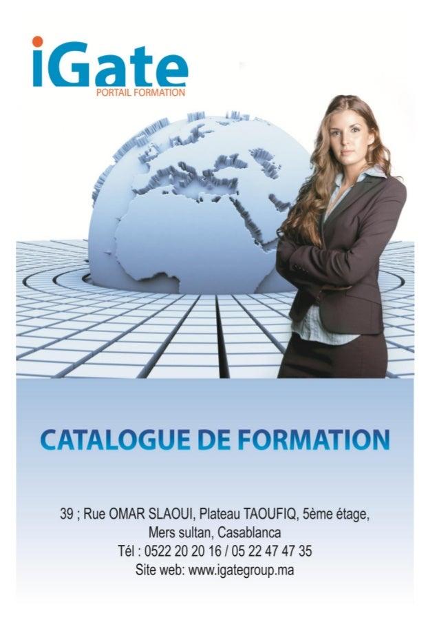 2 Libérer les potentiels La vocation d'IGATEGROUP est de doter les entreprises et institutions au niveau du Maroc, et en A...