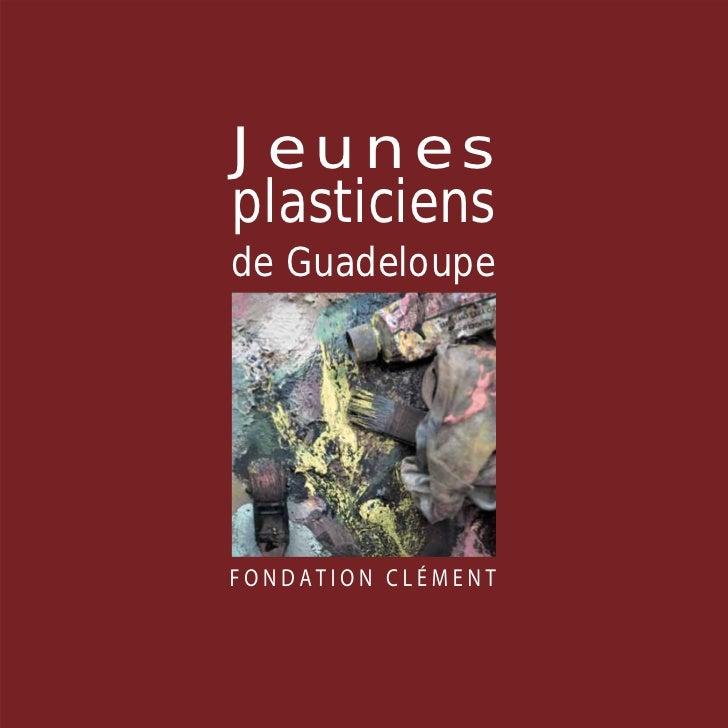 Catalogue Jeunes plasticiens Guadeloupe