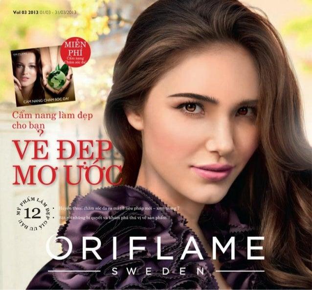 Catalogue mỹ phẩm Oriflame 3-2013
