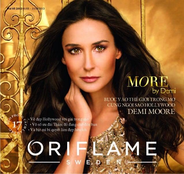 Catalogue My Pham Oriflame 5-2013