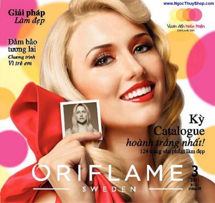 Oriflame - Catalogue Thang 3/2011