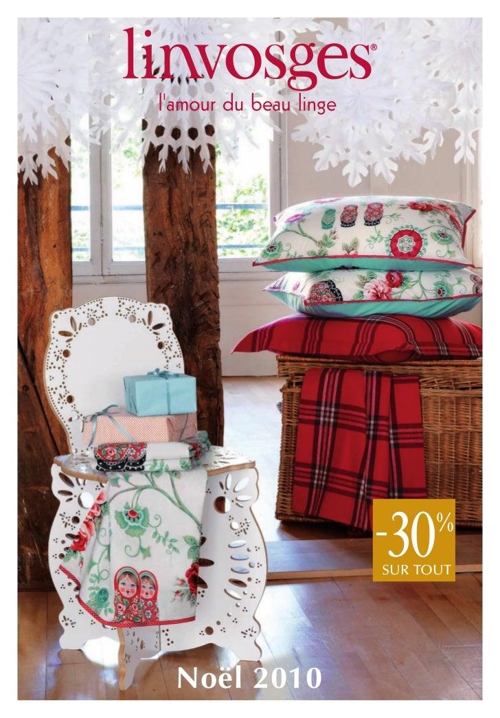 Catalogue Noël 2010 Linvosges