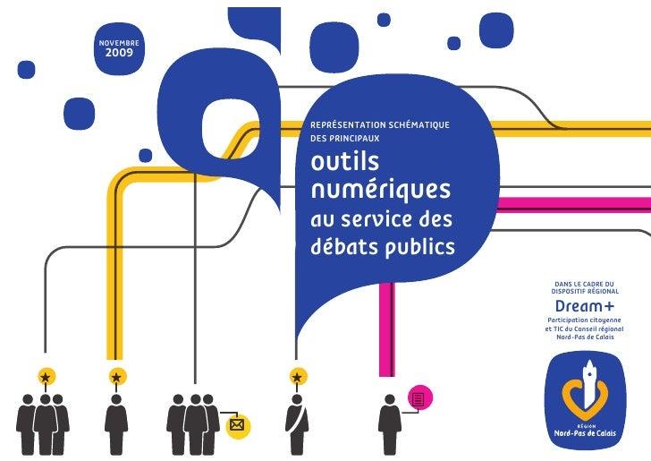 NOVEMBRE  2009               REPRÉSENTATION SCHÉMATIQUE            DES PRINCIPAUX             outils            numériques...