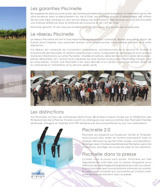 Catalogue piscine piscinelle ann e 2015 for Catalogue piscine