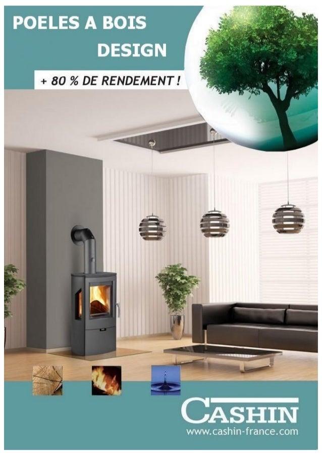 Catalogue poeles a bois design cashin 2015
