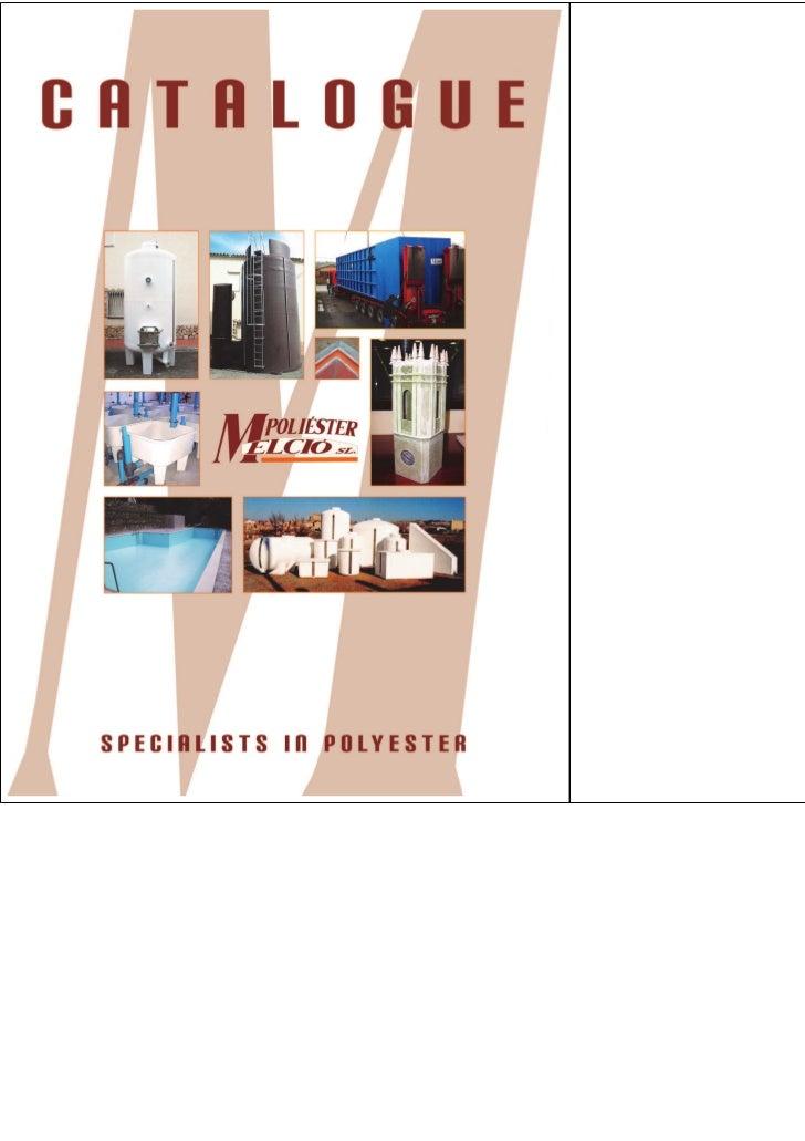 Catalogue Poliéster Melció
