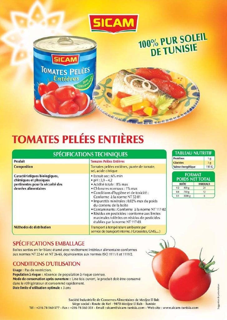 Catalogue produits sicam