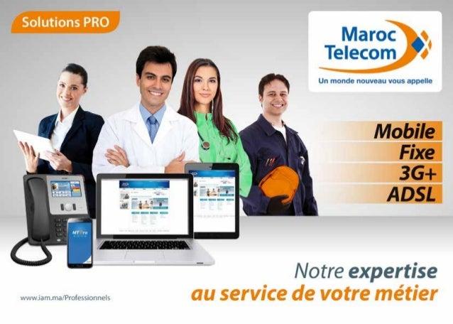 • SOLUTIONS DE TELEPHONIE MOBILE  • SOLUTIONS DE TELEPHONIE FIXE  • SOLUTIONS INTERNET  - ADSL PRO  - Hébergement de site ...