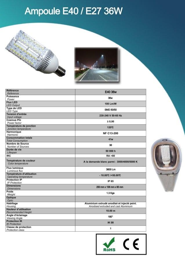 Catalogue SED 2013 : Les LED génériques