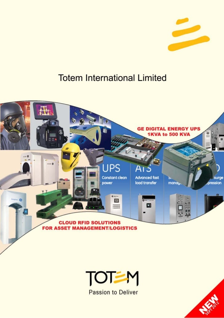 totem Catalogue Sept 2012 safety security