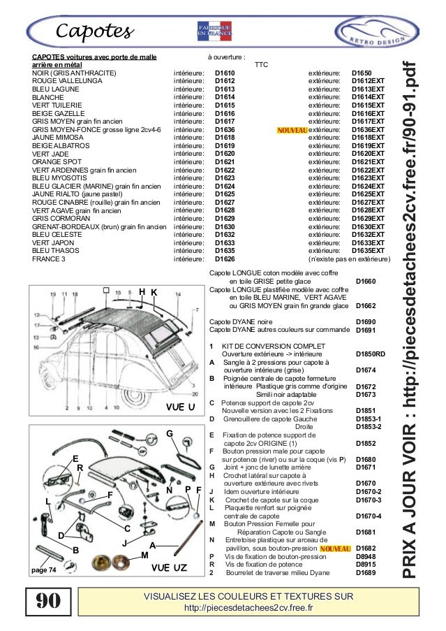 catalogue special carrosserie 2cv dyane acadiane ami 6 ami