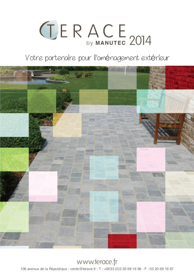 Catalogue Terace 2014