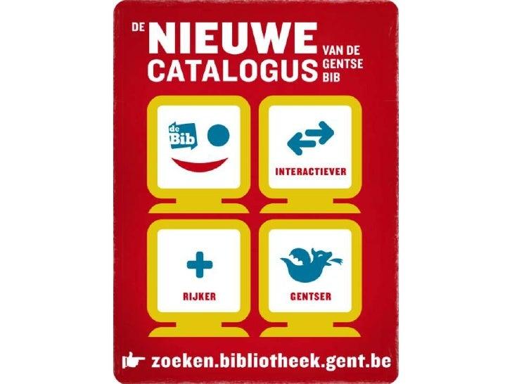 Catalogus Openbare Bibliotheek Gent