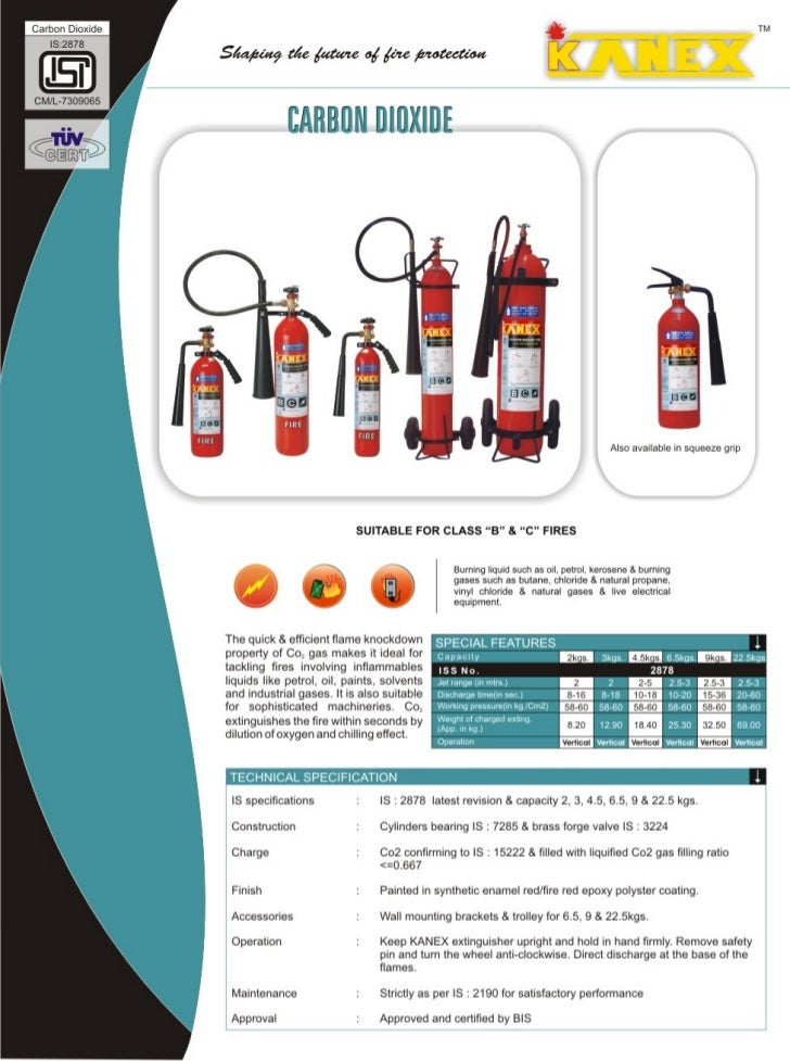 Kanex fire safety Catalouge