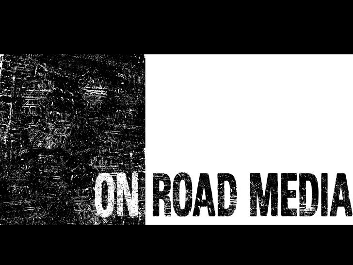 On Road Media Presentation by Natalie McDermott