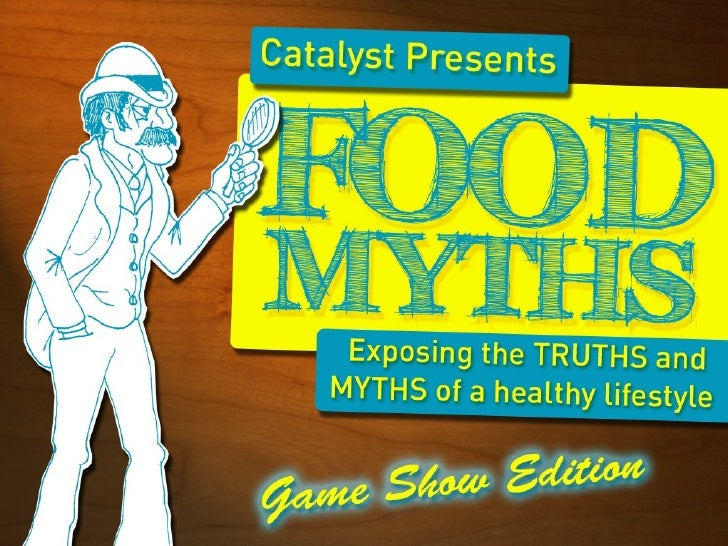 Catalyst Food Myths Gameshow