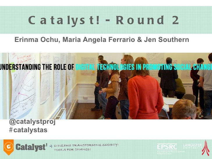 Catalyst - overview & Round 2 Research Sprints