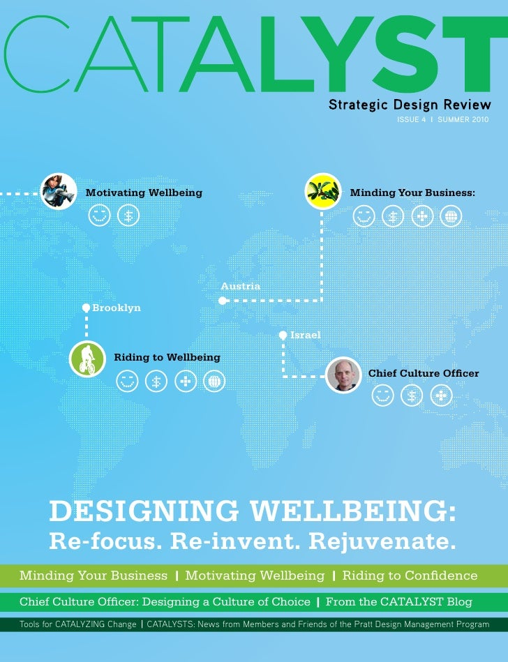 Issue 4 I SUMMER 2010               Motivating Wellbeing                                         Minding Your Business:   ...