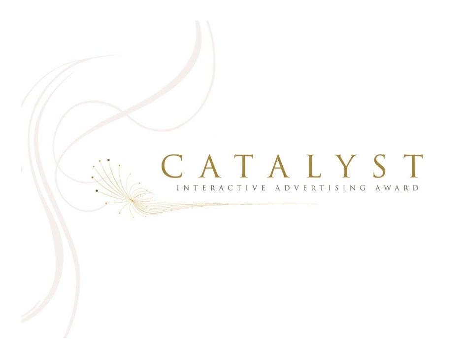 Catalyst Awards Presentation 100308 Ppt