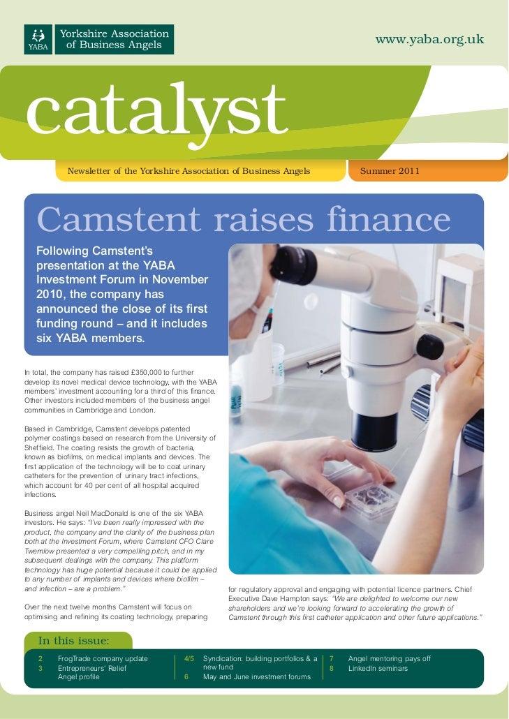 Catalyst Newletter Summer 2011