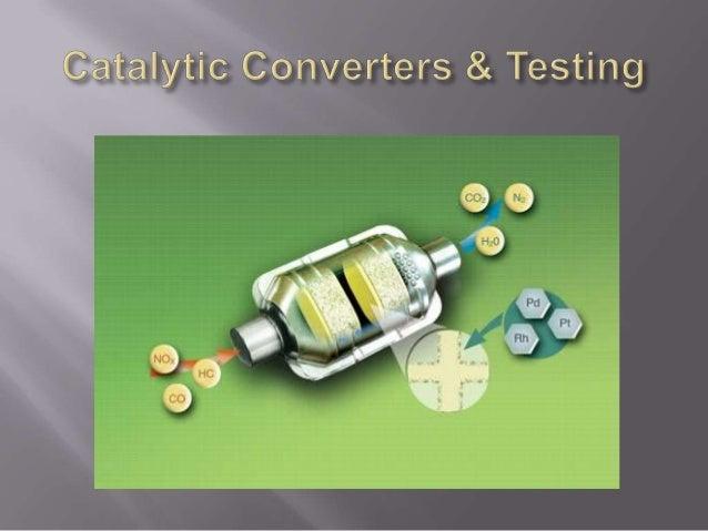 VVC AUTO 85.5 - Smog Technician - Level 1 - Catalytic converters _testing