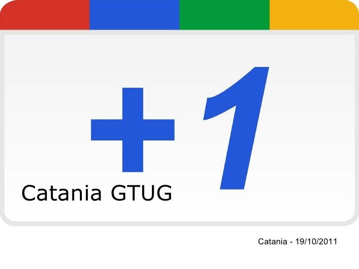 Catania GTUG