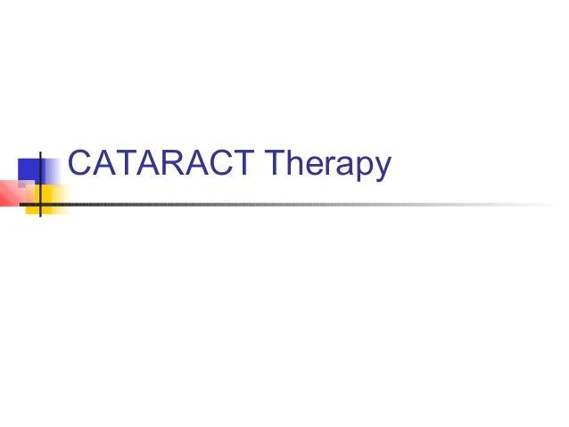 CATARACT Therapy