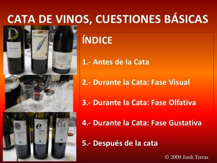 Cata Vinos Tast Vins Wine