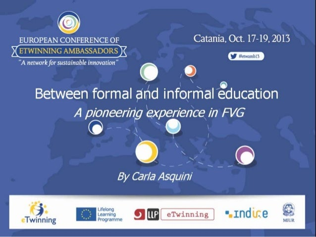 Between formal and informal education  a pioneering experience in FVG