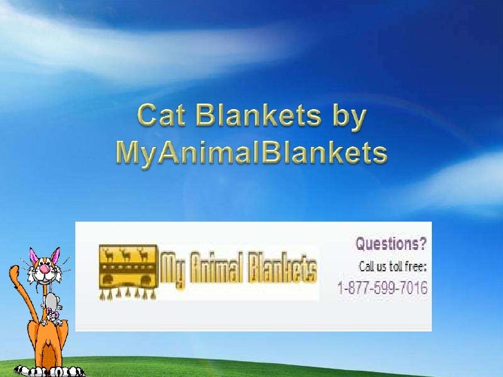Cat Lovers will surely lovethe collection of Cat Blankets    by MyAnimalBlankets!