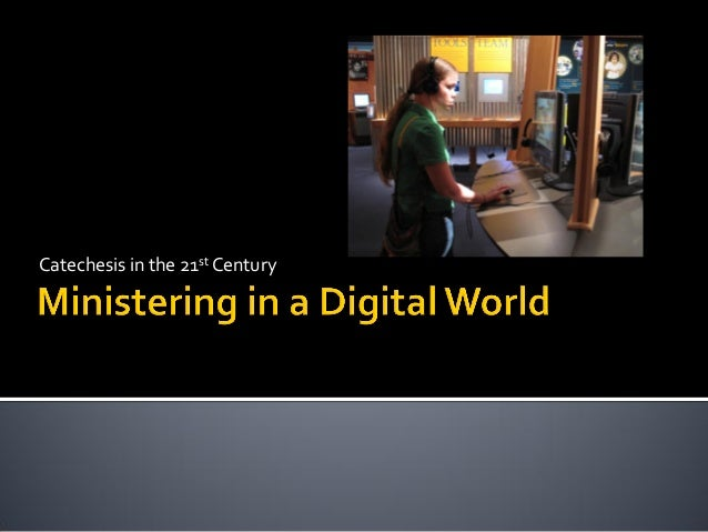 Ministering in a Digital World