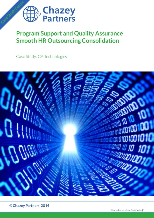 Case Study: Program Support and Quality Assurance Smooth HR Outsourcing Consolidation