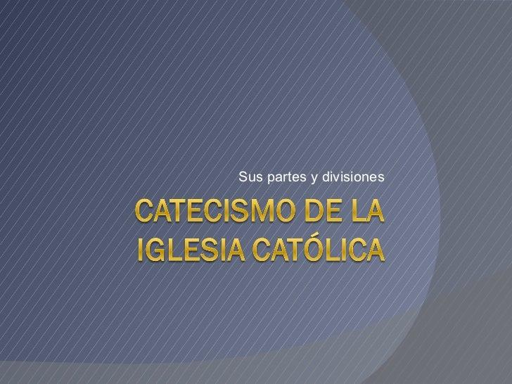 Catecismo de la iglesia católica introducción