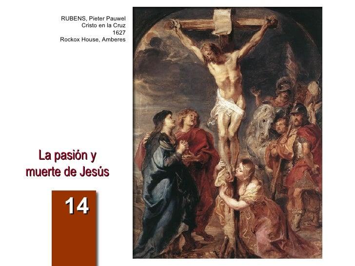 La pasión y muerte de Jesús 14 RUBENS, Pieter Pauwel Cristo en la Cruz 1627 Rockox House, Amberes
