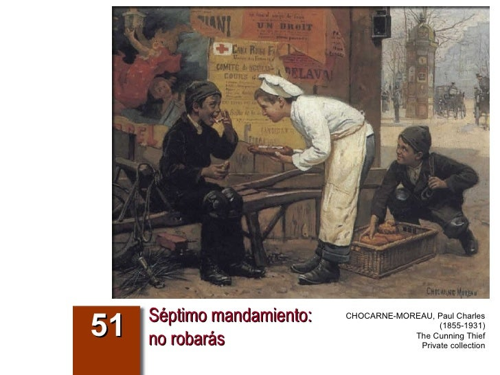 Séptimo mandamiento: no robarás 51 CHOCARNE-MOREAU, Paul Charles (1855-1931) The Cunning Thief Private collection