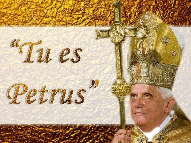 Catequese sobre o papa