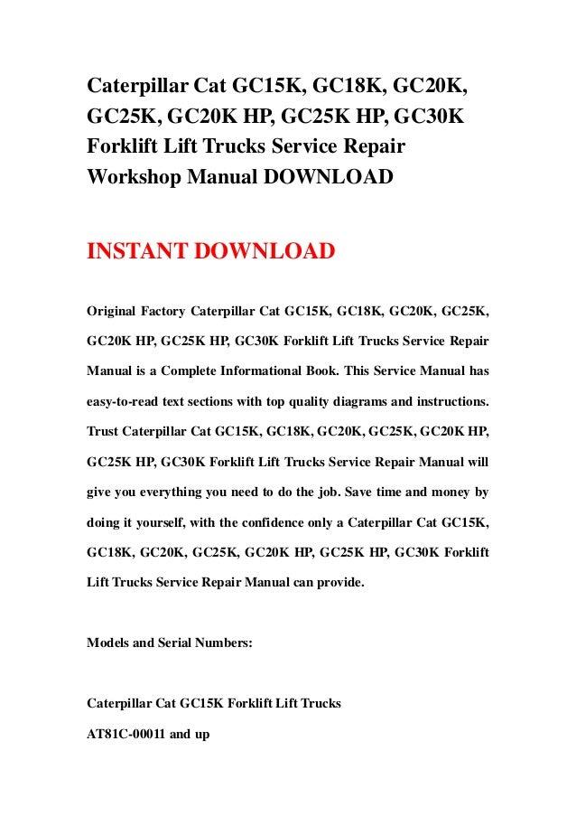 Caterpillar Forklift Wiring Diagram – Freddryer.co