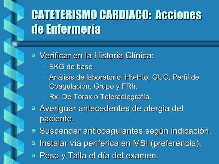 Baño General Del Paciente:Cateterismo cardiaco